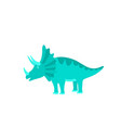 funny hand drawn dinosaurs cartoons dino isolated vector image vector image