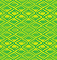 green and yellow retro seventies inspired vector image