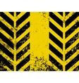 hazard stripes texture vector image vector image