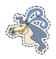 Isolated circus horse design vector image vector image