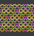 pattern stylish abstract pattern lines swirl vector image