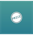 Price Icon Badge Label or Sticker vector image vector image