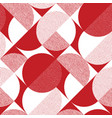 red and black rhombus diagonal seamless pattern vector image vector image