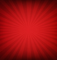 Red Burst Poster vector image vector image