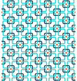 Seamless contrast abstract pattern with squares vector image