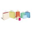 Shopping Bags RETRO vector image