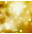 Gold Festive Christmas background EPS 8 vector image