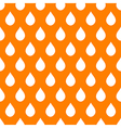 Orange White Water Drops Background vector image vector image