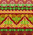 slavic seamless ornament vs vector image vector image