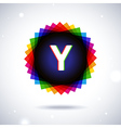 Spectrum logo icon Letter Y vector image