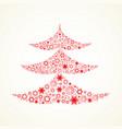 treechristmas tree vector image vector image