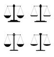 justice icon vector image