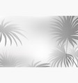 a black white leaf background vector image