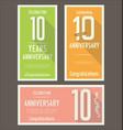 anniversasry background 10 years
