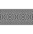 greek key pattern seamless design - inspire vector image vector image