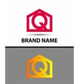 Letter Q logo icon vector image vector image