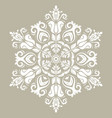 oriental abstract pattern vector image vector image