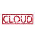 stamp text cloud vector image