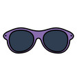 summer sunglasses optical accessory vector image