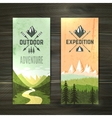 Tourism vertical banners set vector image