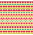 Ethnic tribal zig zag seamless pattern vector image vector image