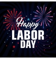 happy labor day poster icon vector image vector image