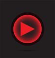 Play icon vector image vector image