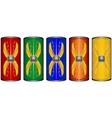 Shields Roman legionnaires vector image
