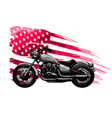 vintage motorbike with background similar to the vector image vector image