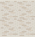 white and gray brick wall pattern interior vector image