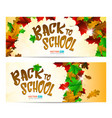 greeting card or banner to 1 september isolated on vector image