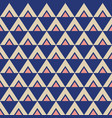 abstract seamless geometric pattern triangles vector image vector image