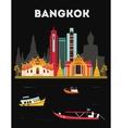Bangkok Thailand vector image vector image