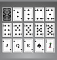 cards full set vector image vector image