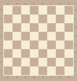 chess board in brown wooden background vector image vector image
