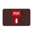 download icon pdf vector image