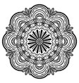 ethnic floral mandala vintage decor vector image vector image