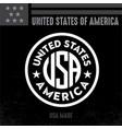 Made in usa united states america usa flag