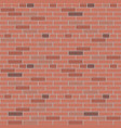 red brick wall pattern interior graphic vector image vector image