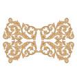 retro baroque decorations element