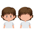 set of male character vector image