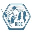 Ski resort logo emblems labels badges vector image vector image