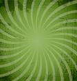 Vintage spiral green background vector image vector image