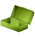 A green medical box vector image vector image