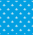 book pattern seamless blue vector image
