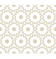 geometric seamless pattern with hexagons subtle vector image vector image