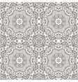 seamless doodle pattern ethnic coloring motives vector image vector image