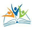 Success education logo vector image vector image