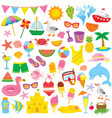 summer clipart for kids vector image