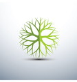 tree icons2 vector image vector image